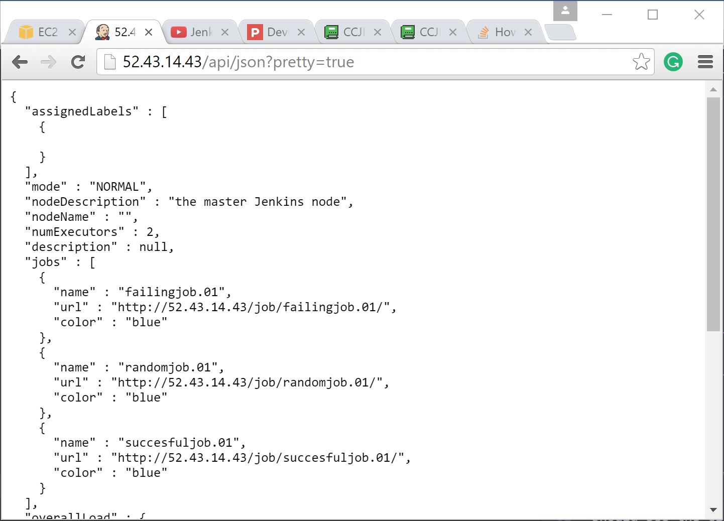 CCJPE: Jenkins API Tutorial - DevOps Library